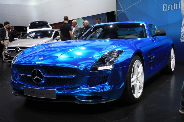 Mercedes-Benz SLS AMG Electric Drive image #10