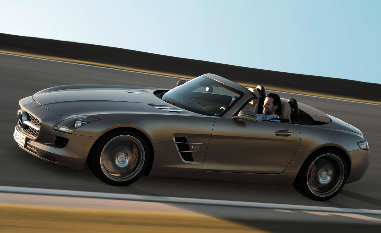 Mercedes benz sls amg roadster technical details history for Mercedes benz amg parts