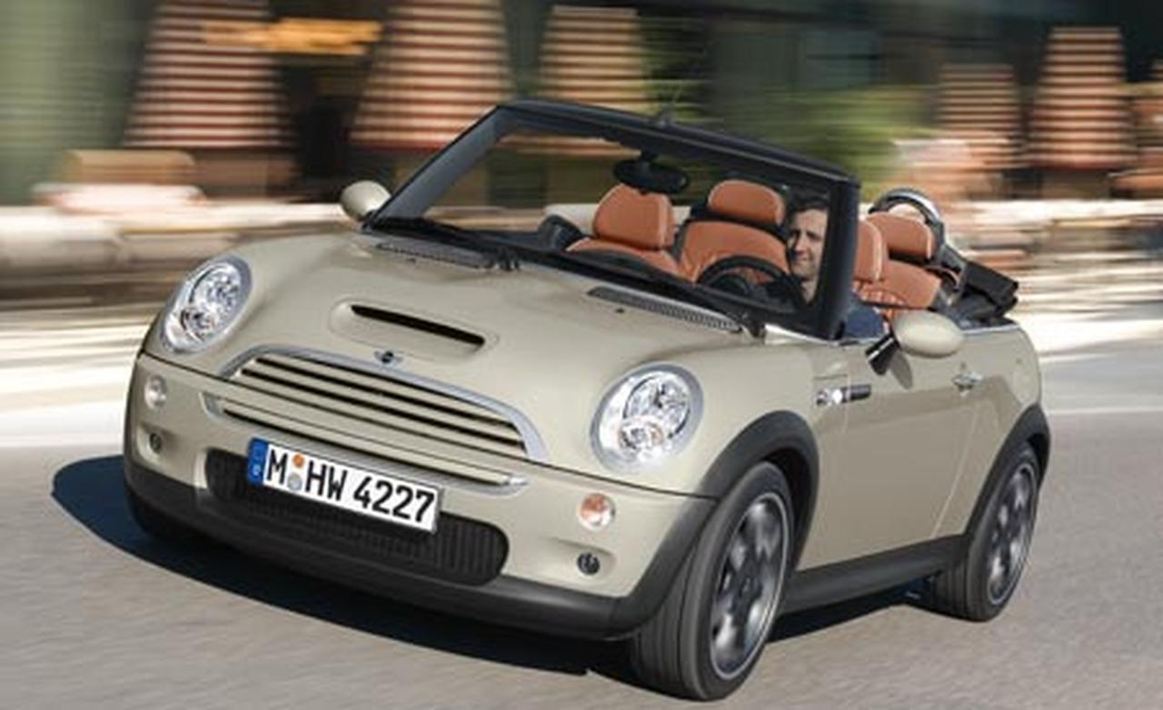 mini cooper s cabrio sidewalk technical details history photos on better parts ltd. Black Bedroom Furniture Sets. Home Design Ideas