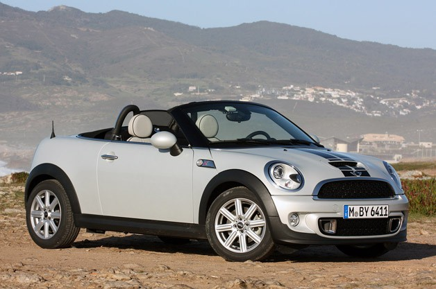 MINI Cooper S Roadster technical details history photos on