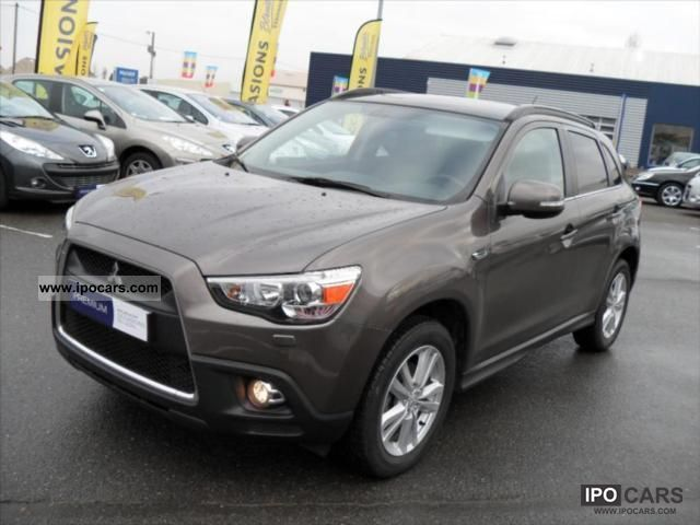 Mitsubishi Asx Instyle Technical Details History Photos