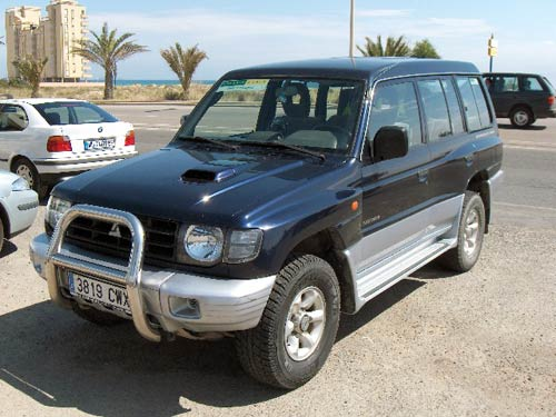 Mitsubishi Galloper photo 01
