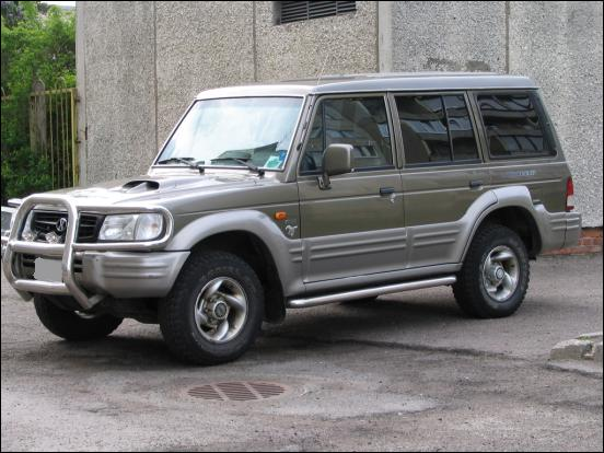 Mitsubishi Galloper photo 04