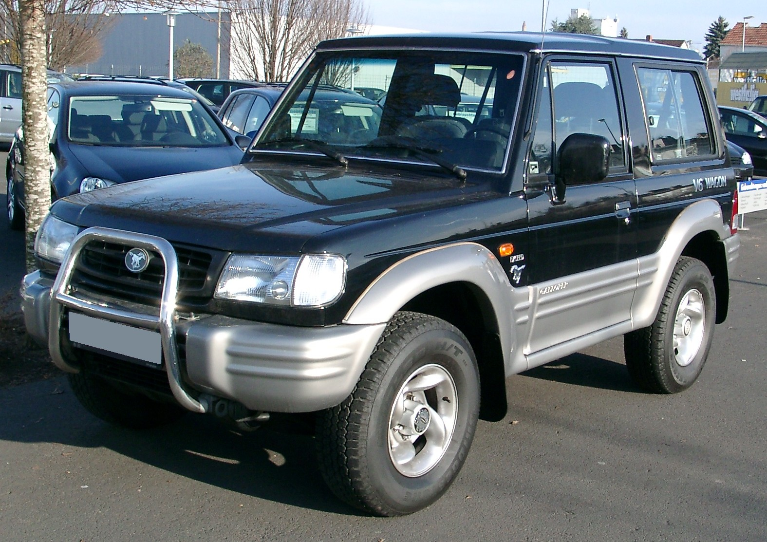 Mitsubishi Galloper photo 11