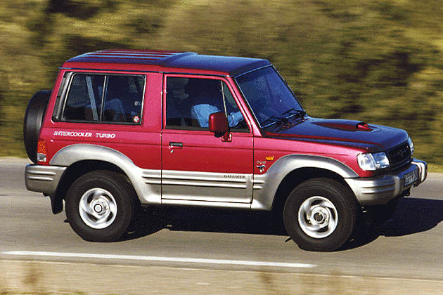 Mitsubishi Galloper photo 12