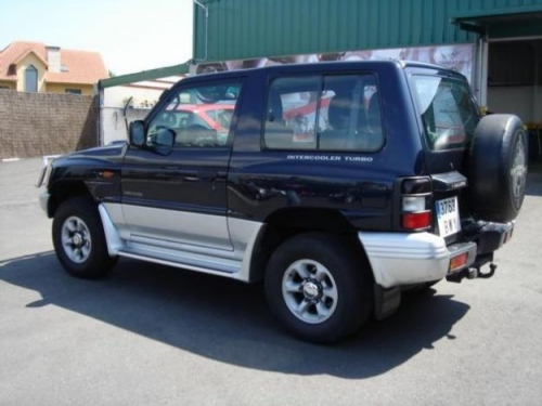 Mitsubishi Galloper photo 15