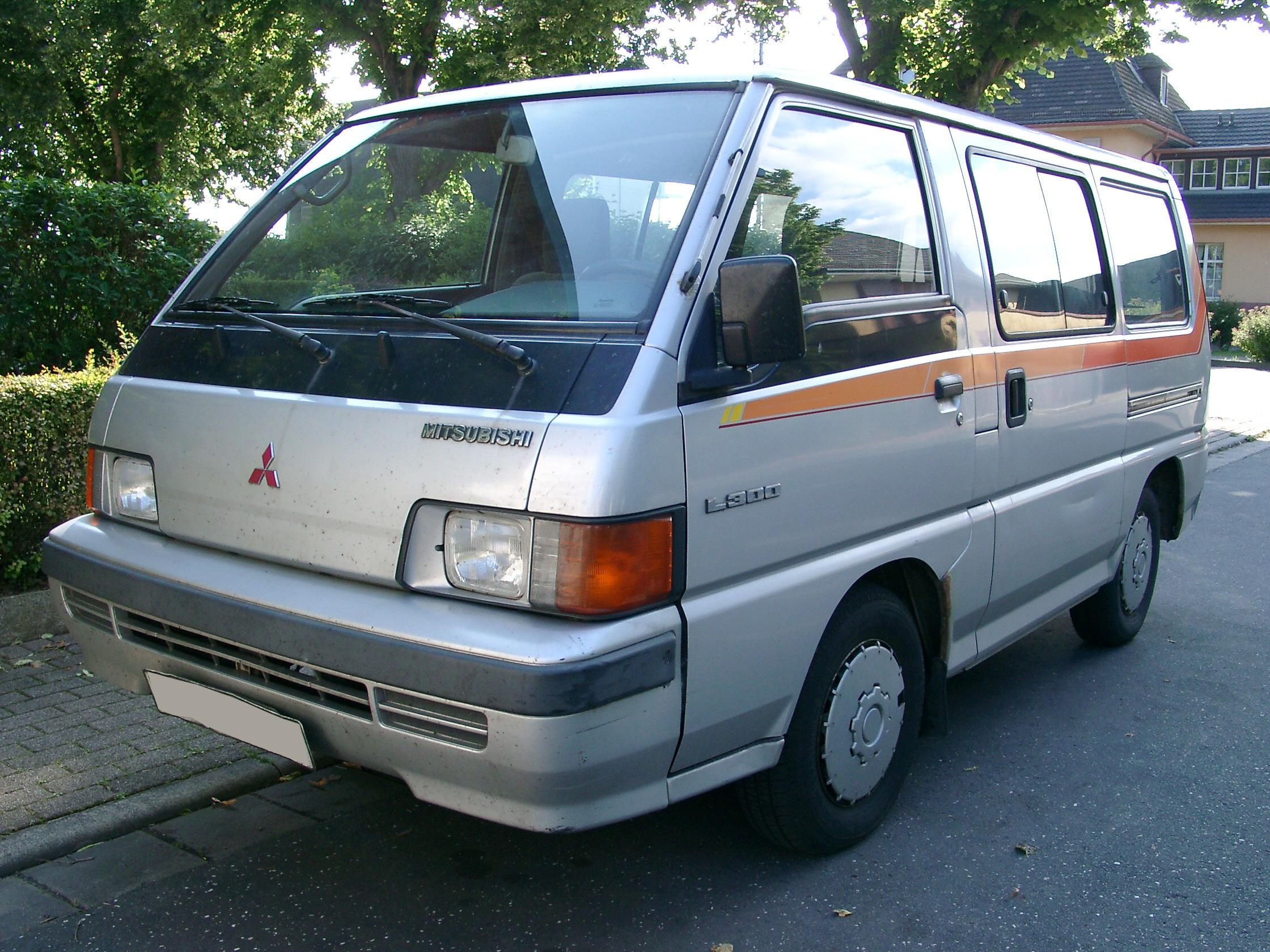 Mitsubishi L300 History Photos On Better Parts Ltd