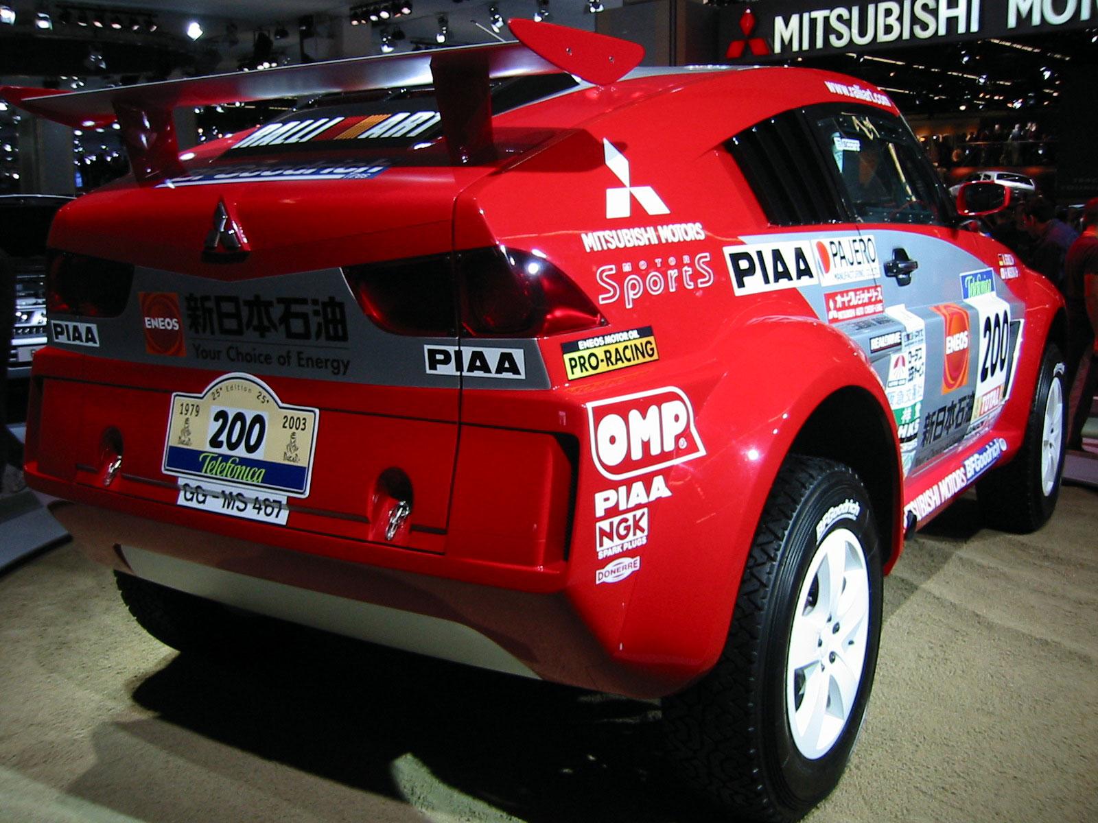 Mitsubishi Pajero Dakar Technical Details History Photos