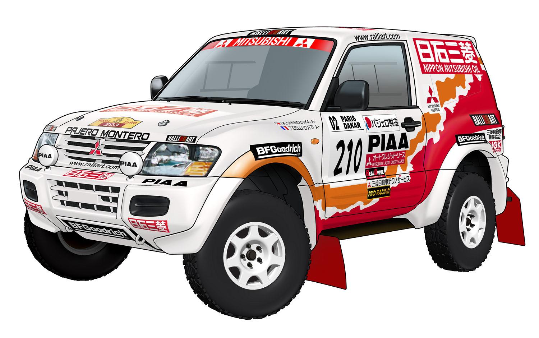 Mitsubishi Pajero Dakar technical details, history, photos on Better Parts LTD
