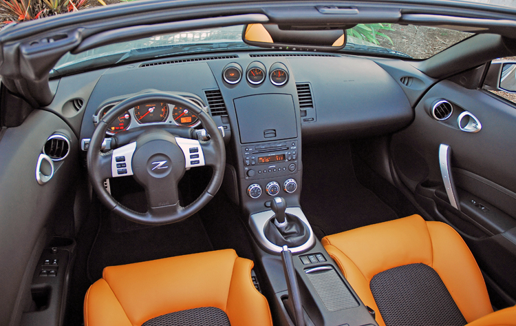 Nissan 350z roadster technical details history photos on better parts ltd for 350z interior replacement parts