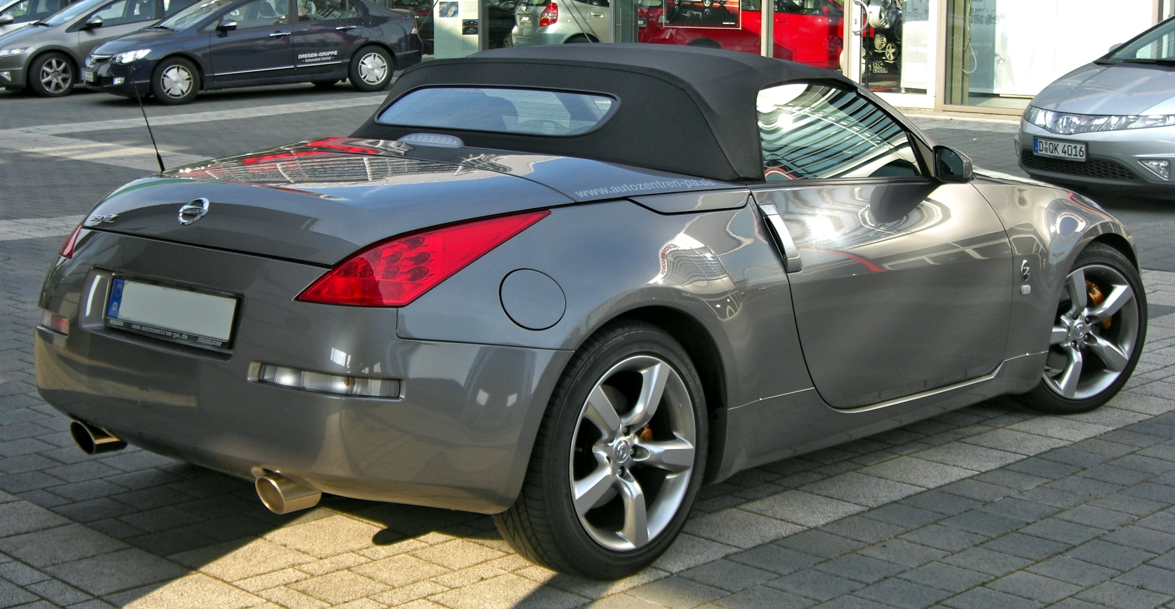 NISSAN 350Z Roadster technical details, history, photos on ...