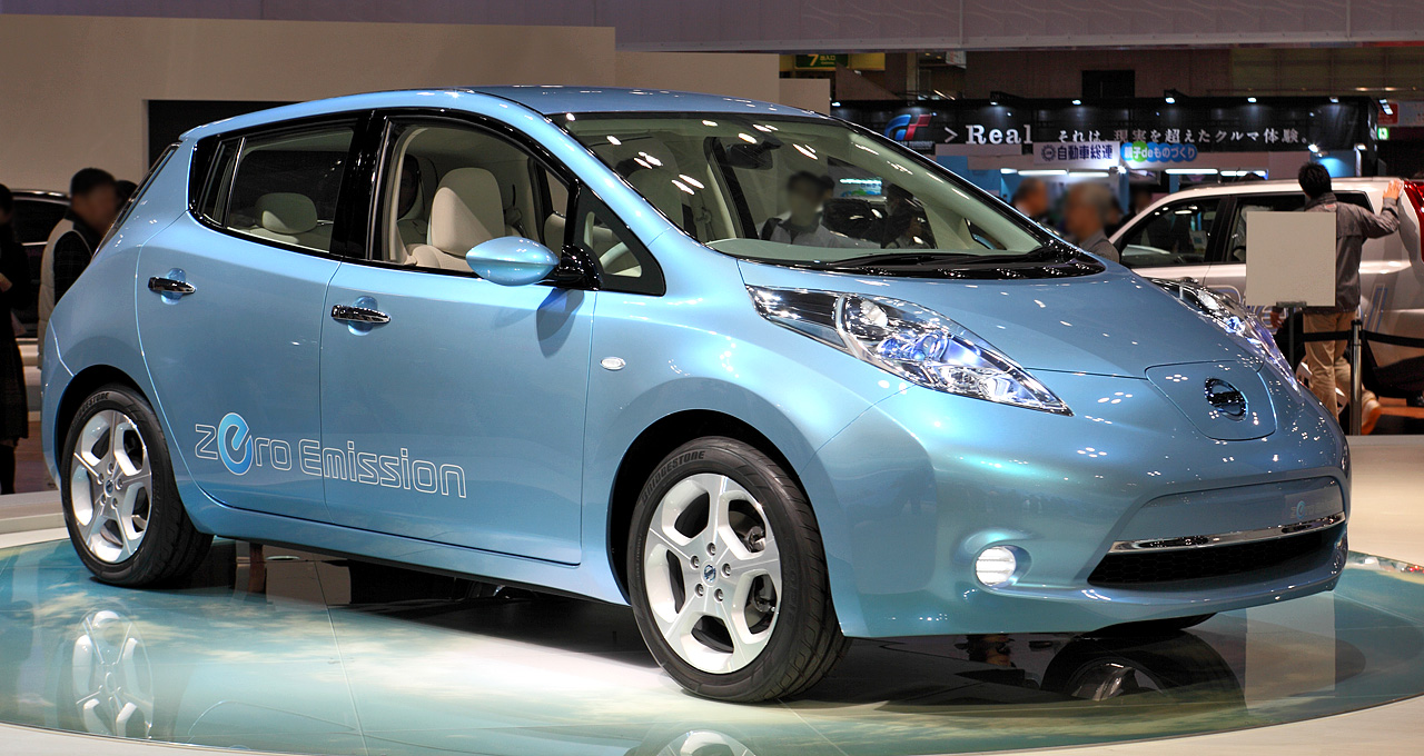 NISSAN Leaf photo 11