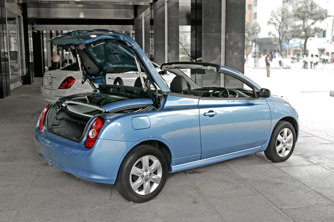Nissan micra c c technical details history photos on for Nissan micra cc