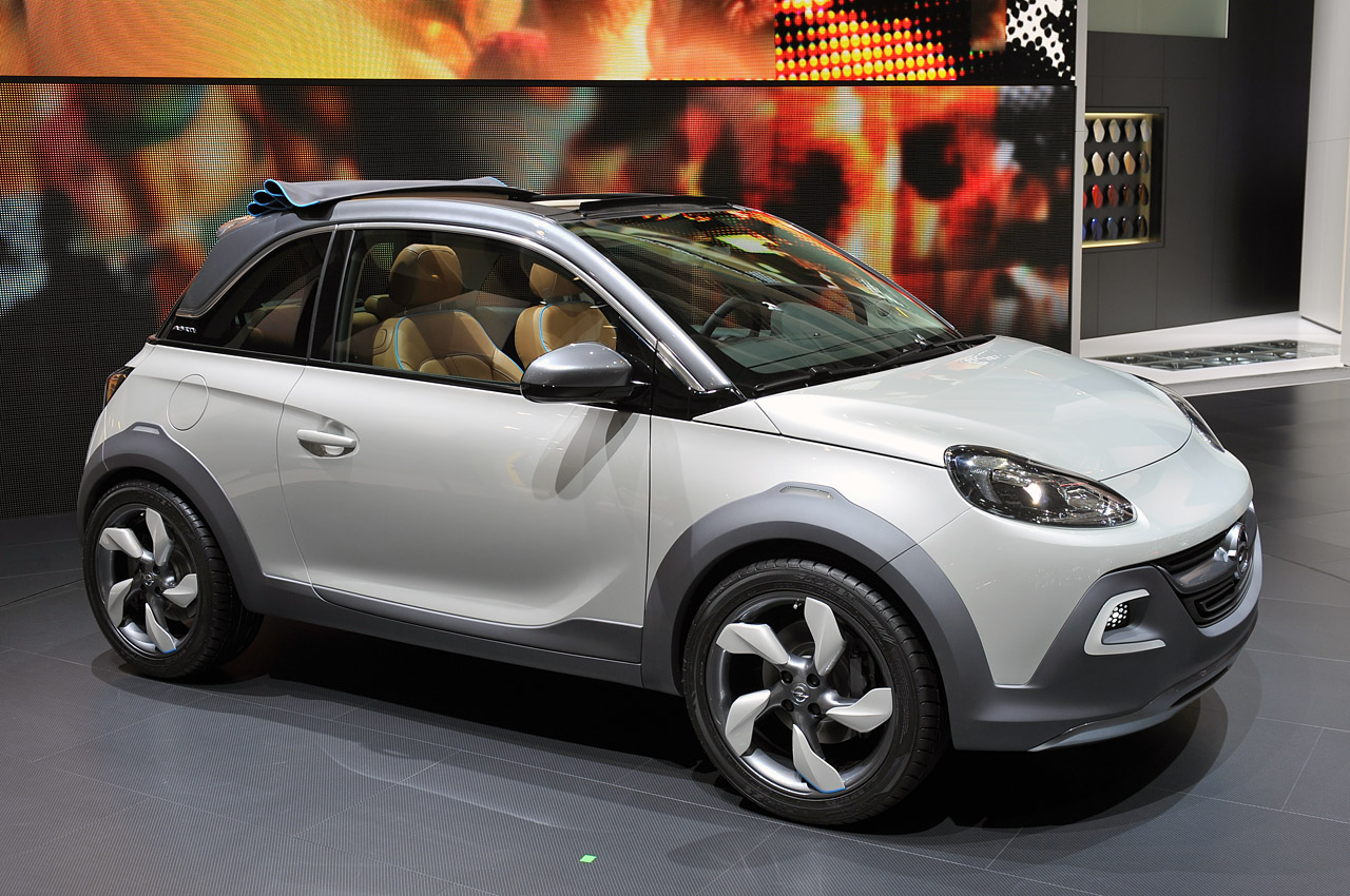 opel adam rocks technical details history photos on better parts ltd. Black Bedroom Furniture Sets. Home Design Ideas