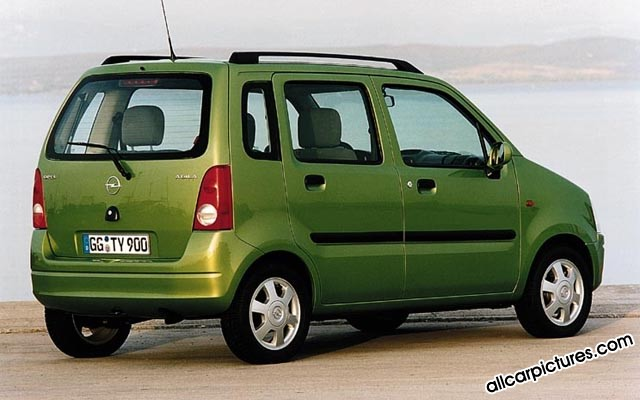 Opel Agila photo 02