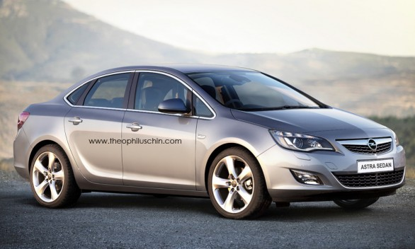 Opel Astra Berlina photo 01