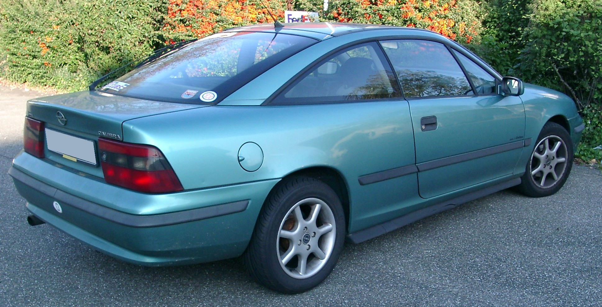 Opel Calibra photo 03
