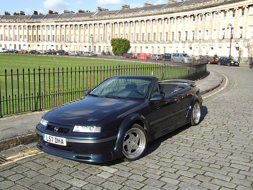 Opel Calibra Cabrio photo 01
