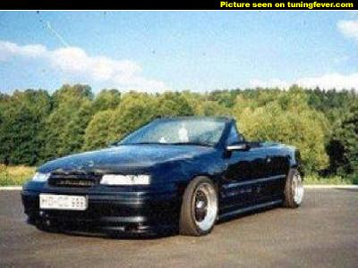Opel Calibra Cabrio photo 02