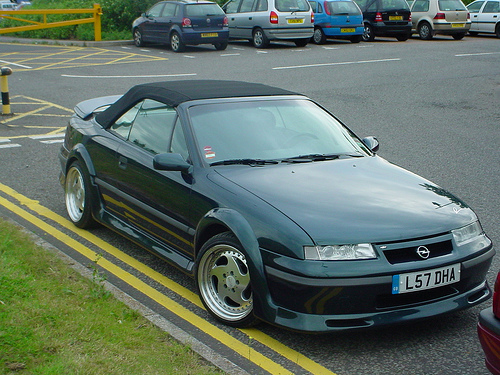 Opel Calibra Cabrio photo 06
