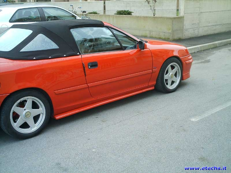 Opel Calibra Cabrio photo 15