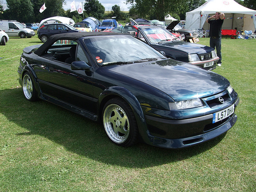 Opel Calibra Cabrio photo 17
