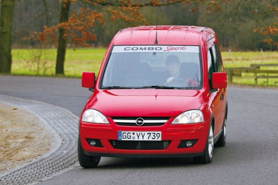 Opel Combo 1.6 CNG photo 10