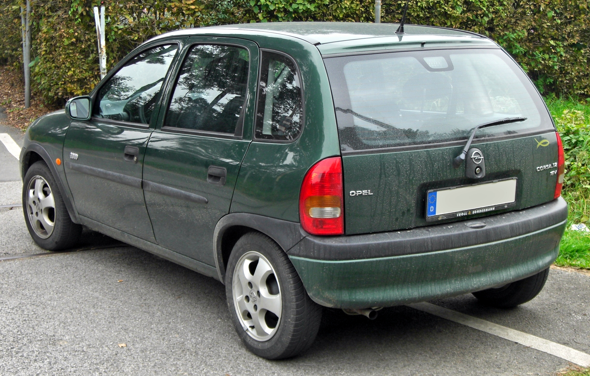 opel corsa 1 2 16v technical details history photos on better parts ltd