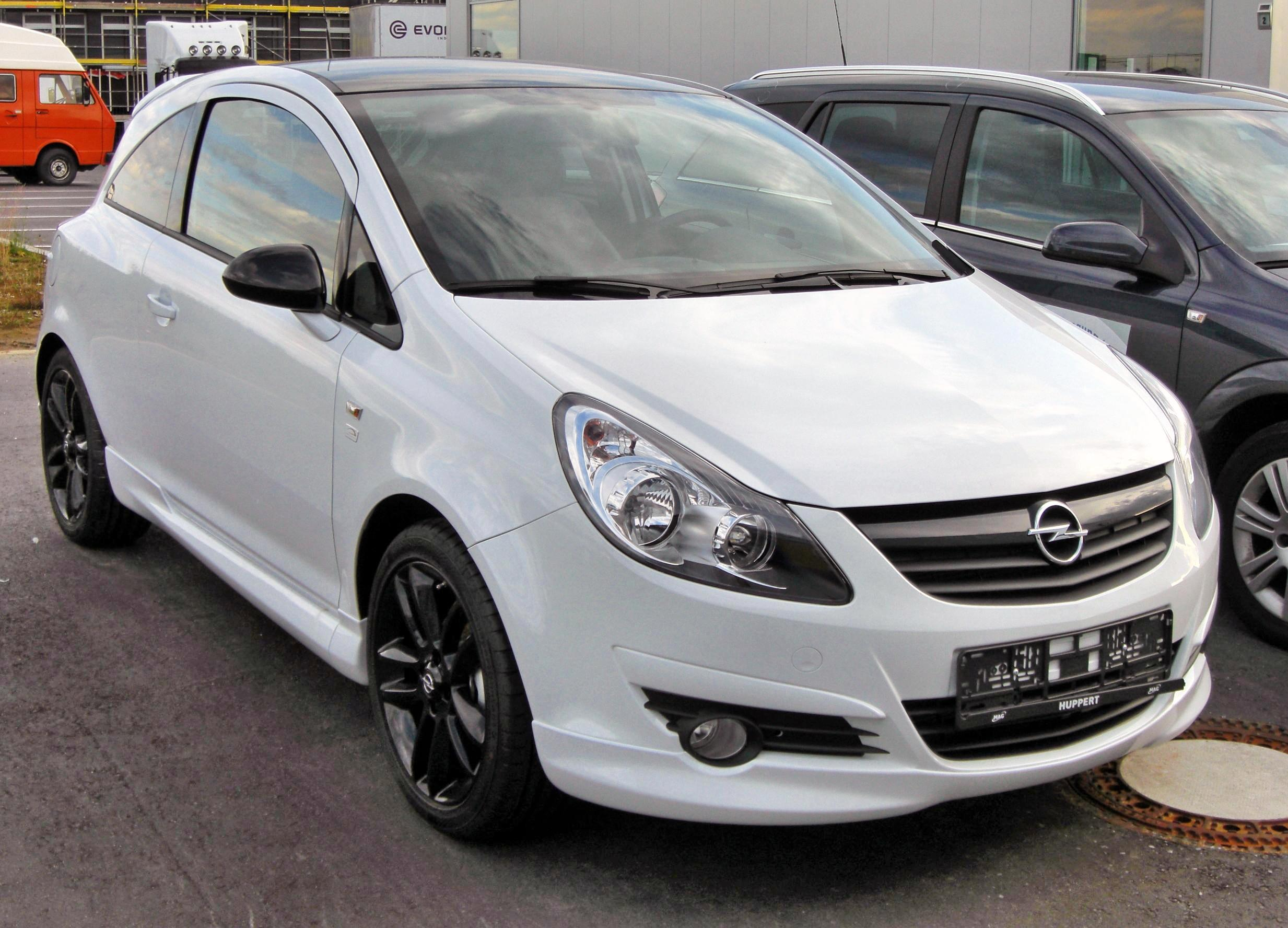 Opel Corsa Edition photo 04