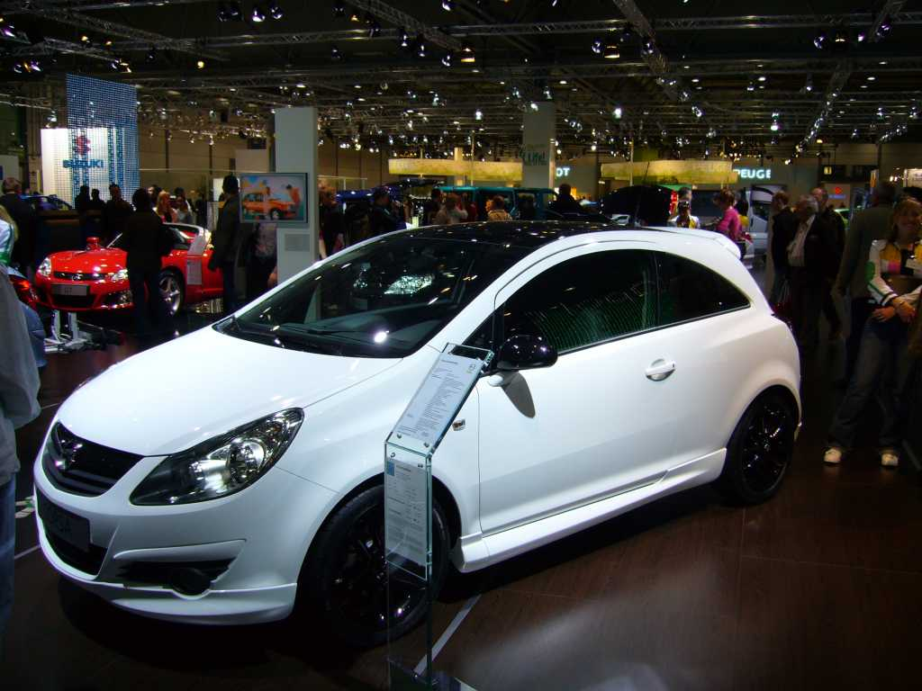 Opel Corsa Edition photo 08