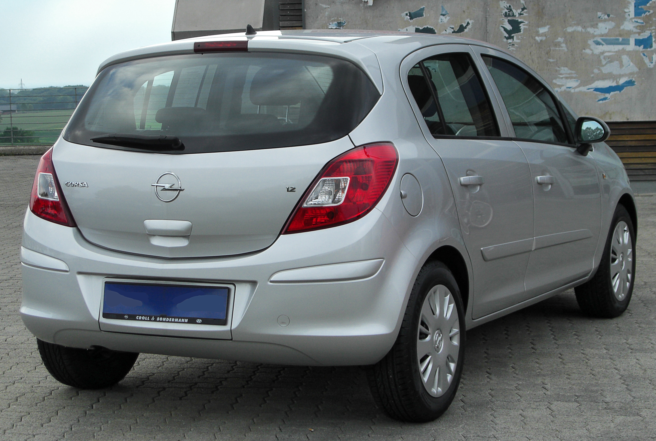 Opel Corsa Edition photo 10