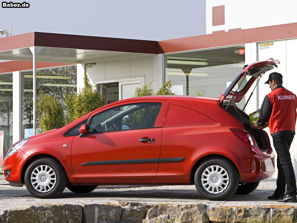 Opel Corsa Van image #7