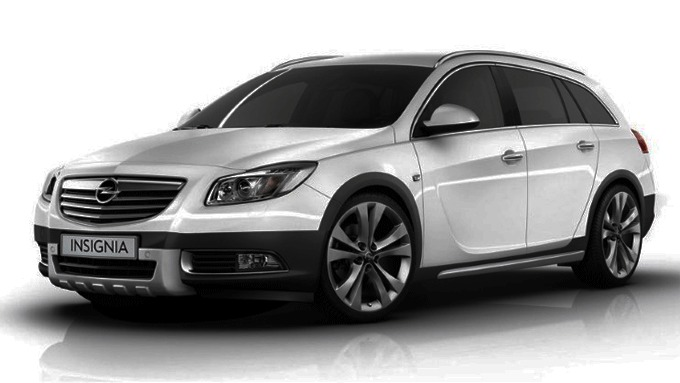 Opel Insignia Crossfour Technical Details History Photos