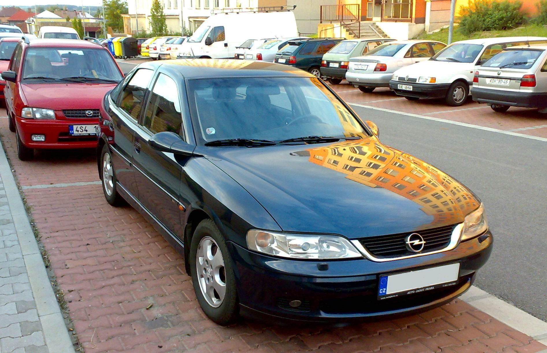 Opel Vectra photo 03