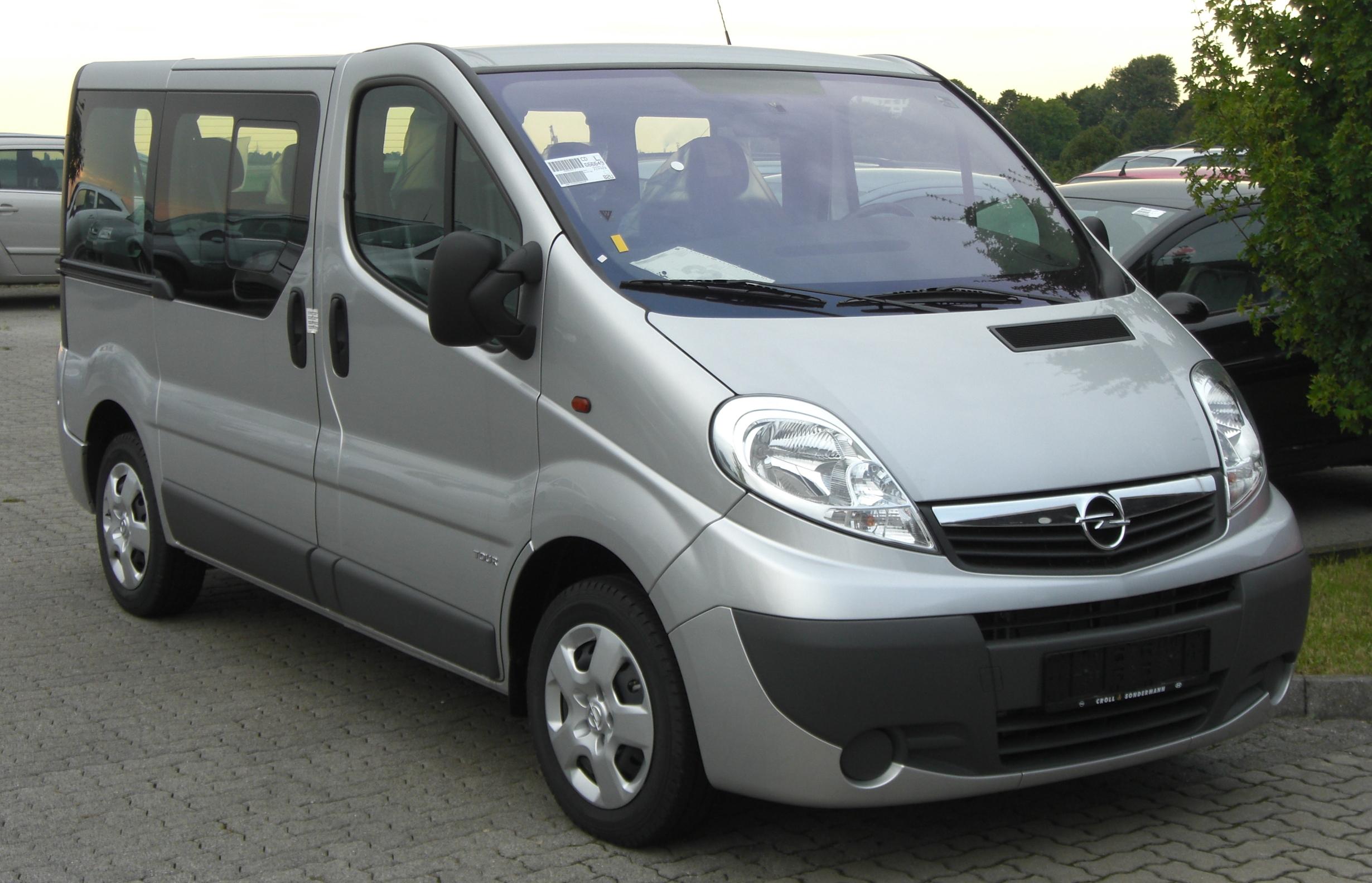 Opel Vivaro History Photos On Better Parts Ltd