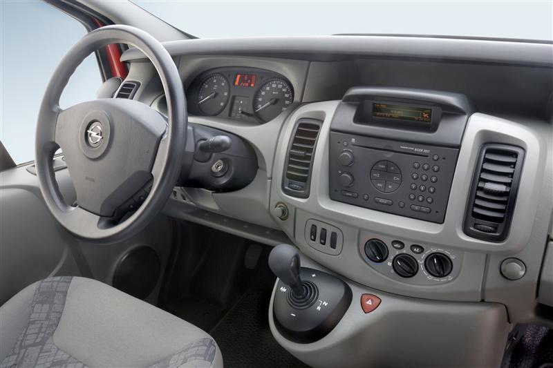 Opel vivaro history photos on better parts ltd for Interieur opel vivaro