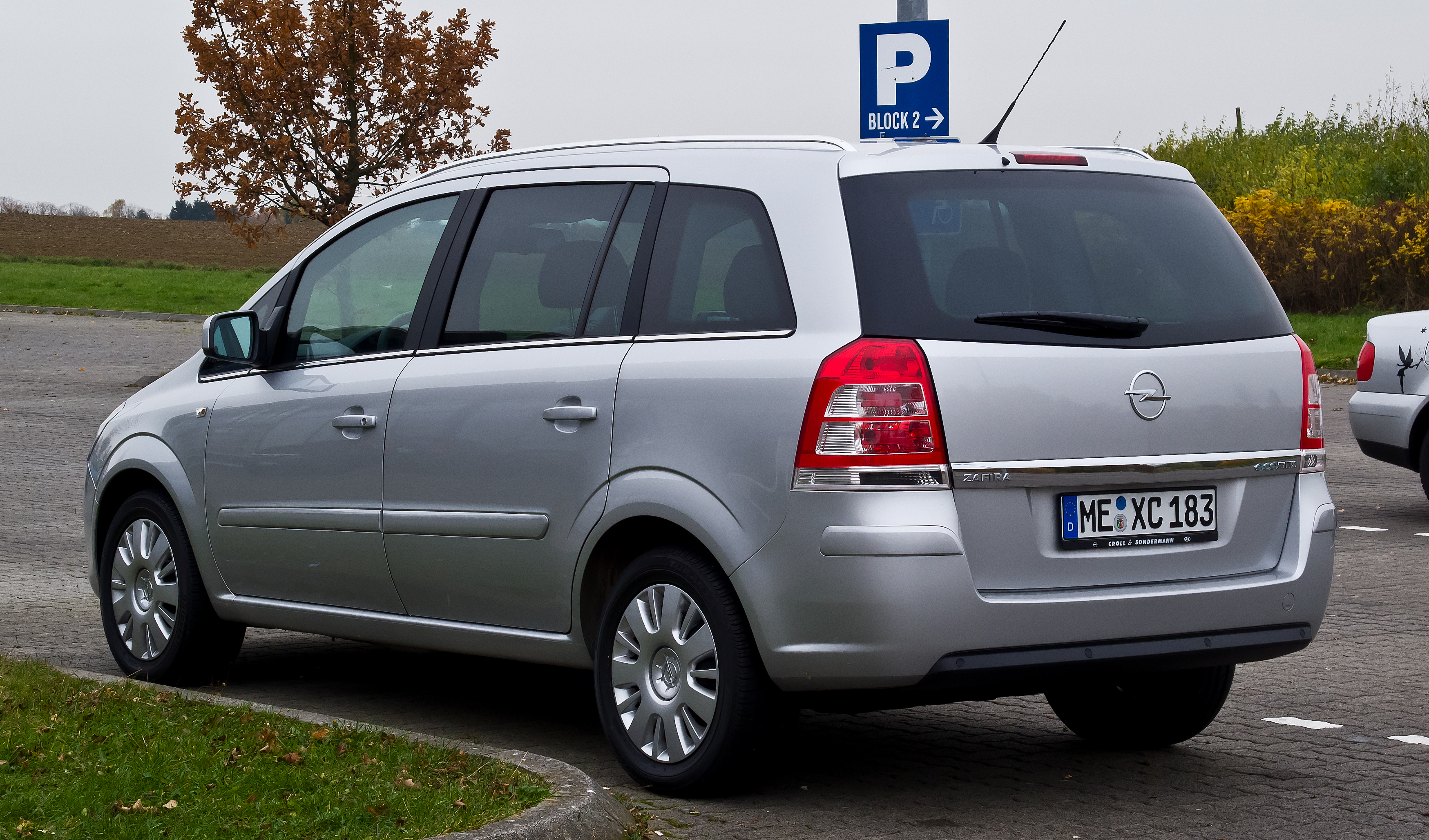 Opel Zafira 1.6 CNG photo 09