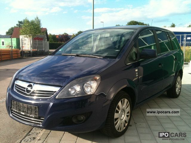 Opel Zafira 1.6 CNG photo 11