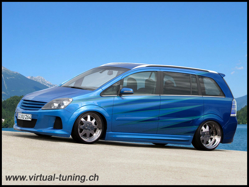 opel zafira opc technical details history photos on. Black Bedroom Furniture Sets. Home Design Ideas