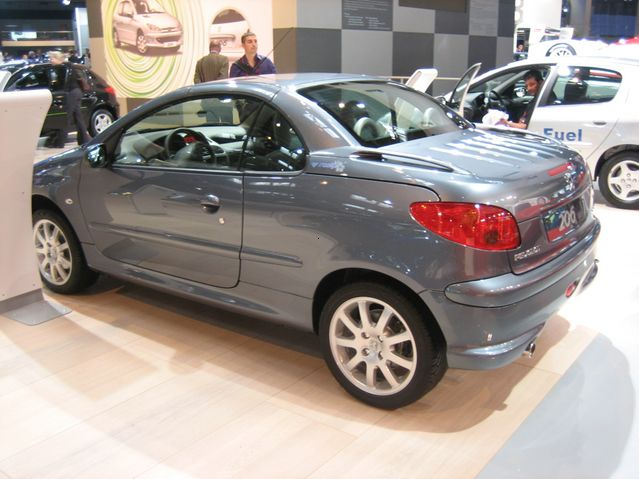 peugeot 206 cc roxy technical details history photos on better parts ltd. Black Bedroom Furniture Sets. Home Design Ideas
