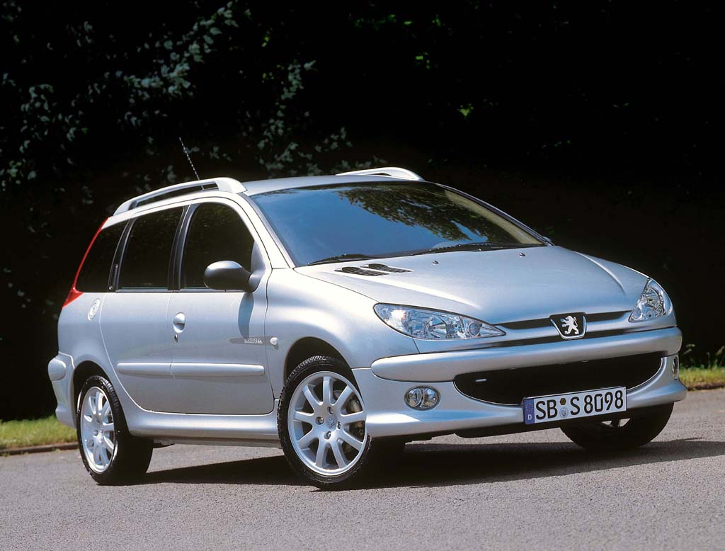 peugeot 206 sw technical details history photos on. Black Bedroom Furniture Sets. Home Design Ideas