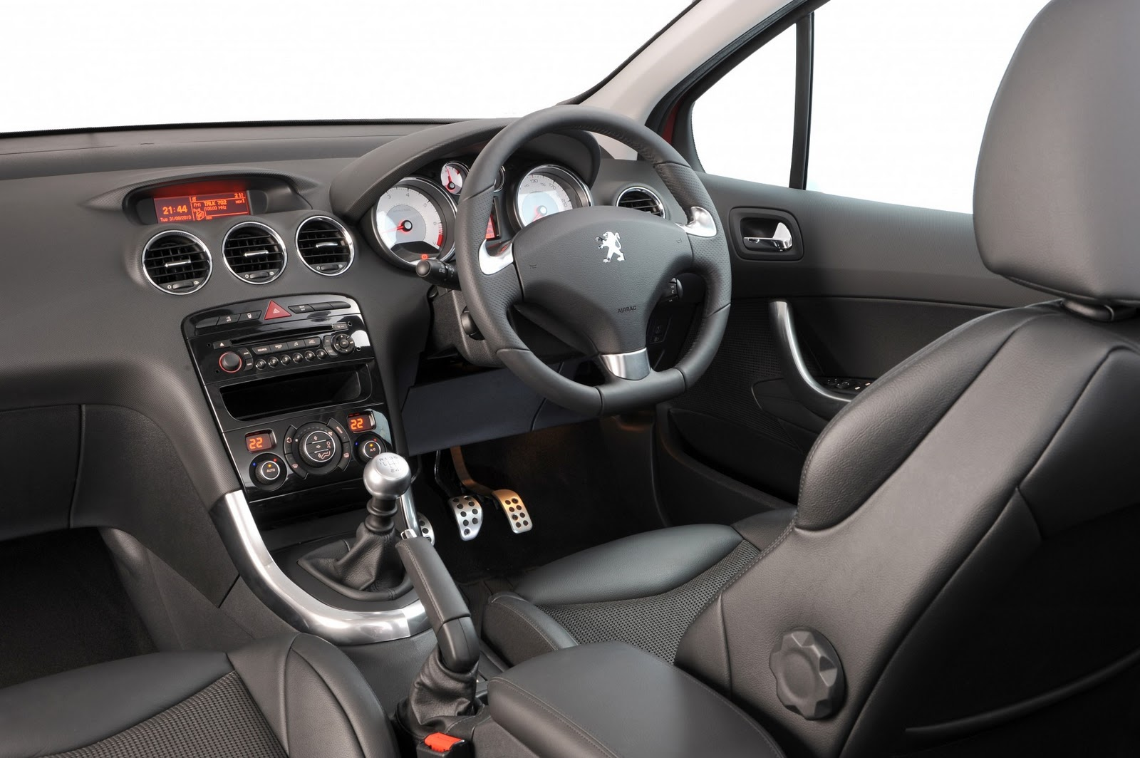 Peugeot 308 gti technical details history photos on for Interior peugeot 308