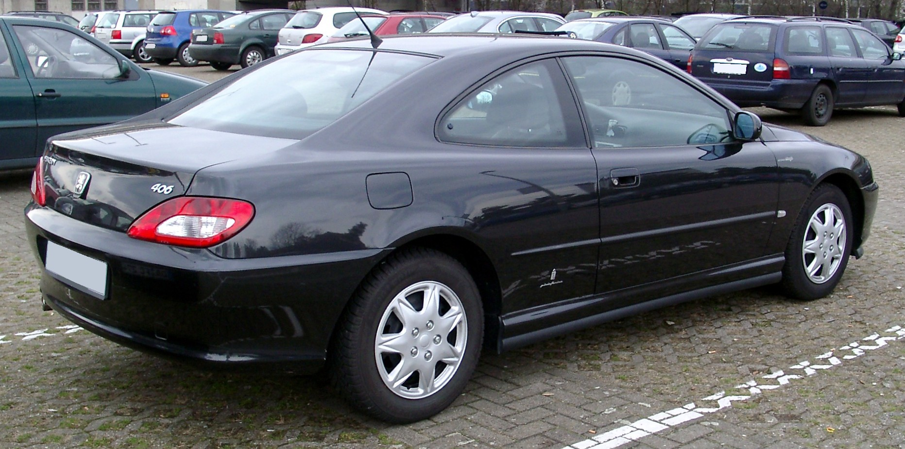 Peugeot 406 Coupé photo 01