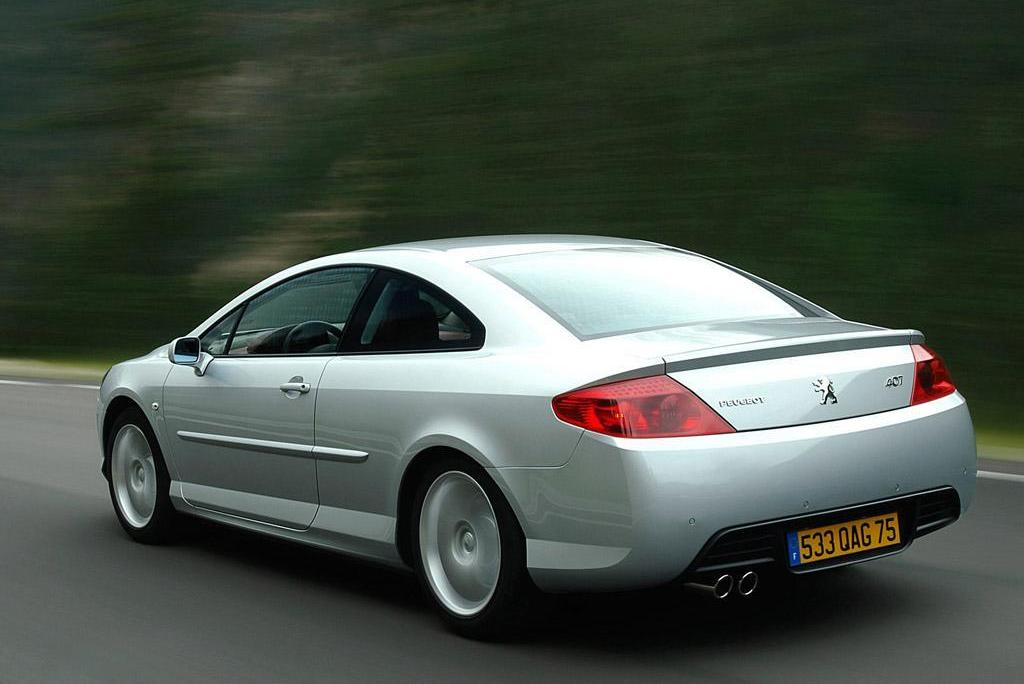 Peugeot 407 Coupe photo 02