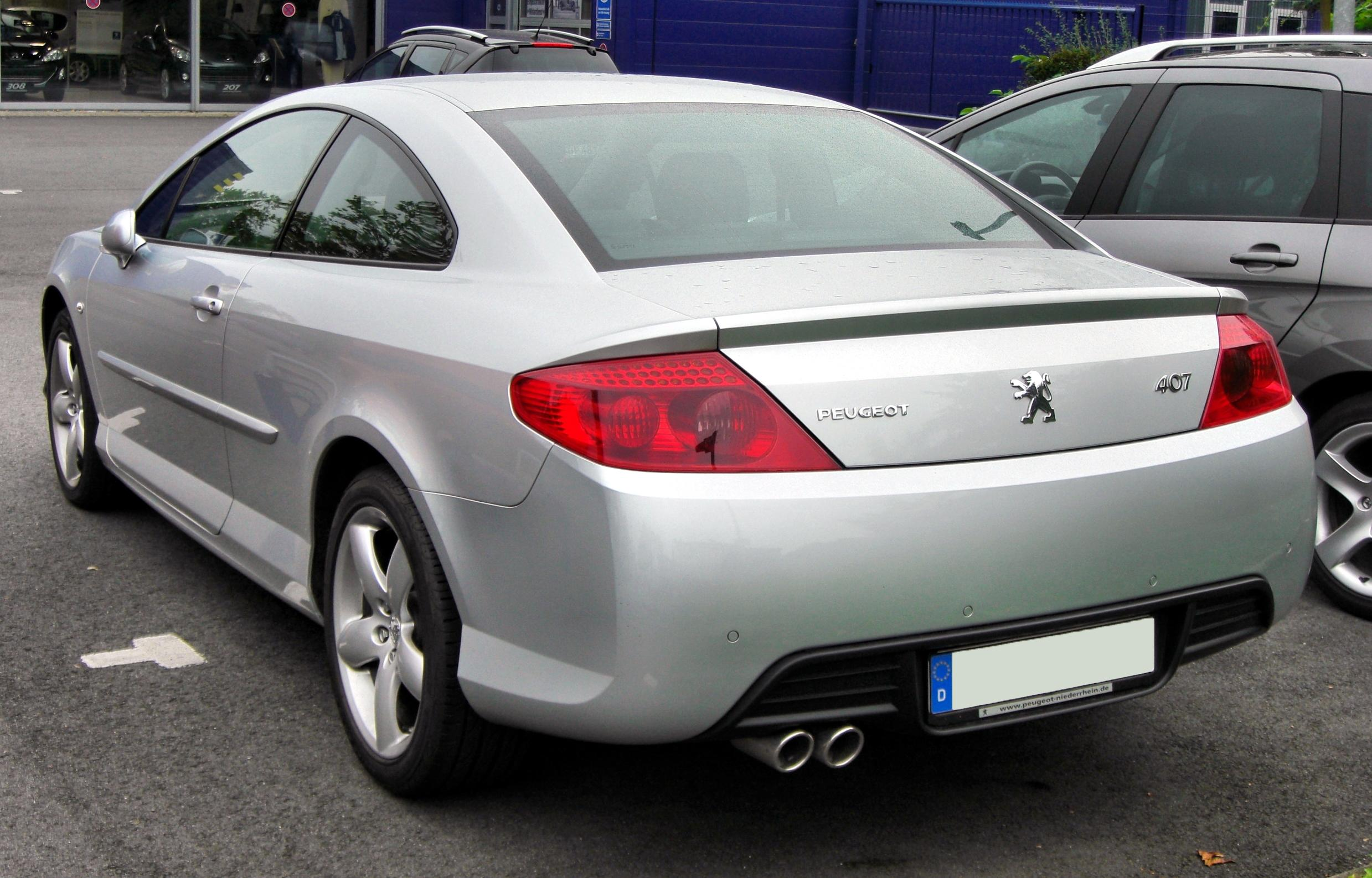 Peugeot 407 Coupe photo 03