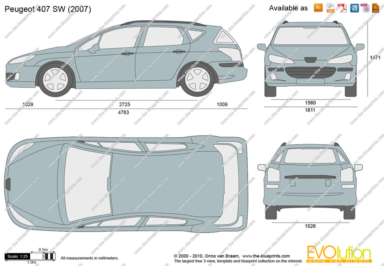 Peugeot 407 SW Business Line image #7