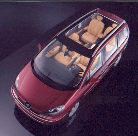 Peugeot 807 premium technical details history photos on for Interior peugeot 807
