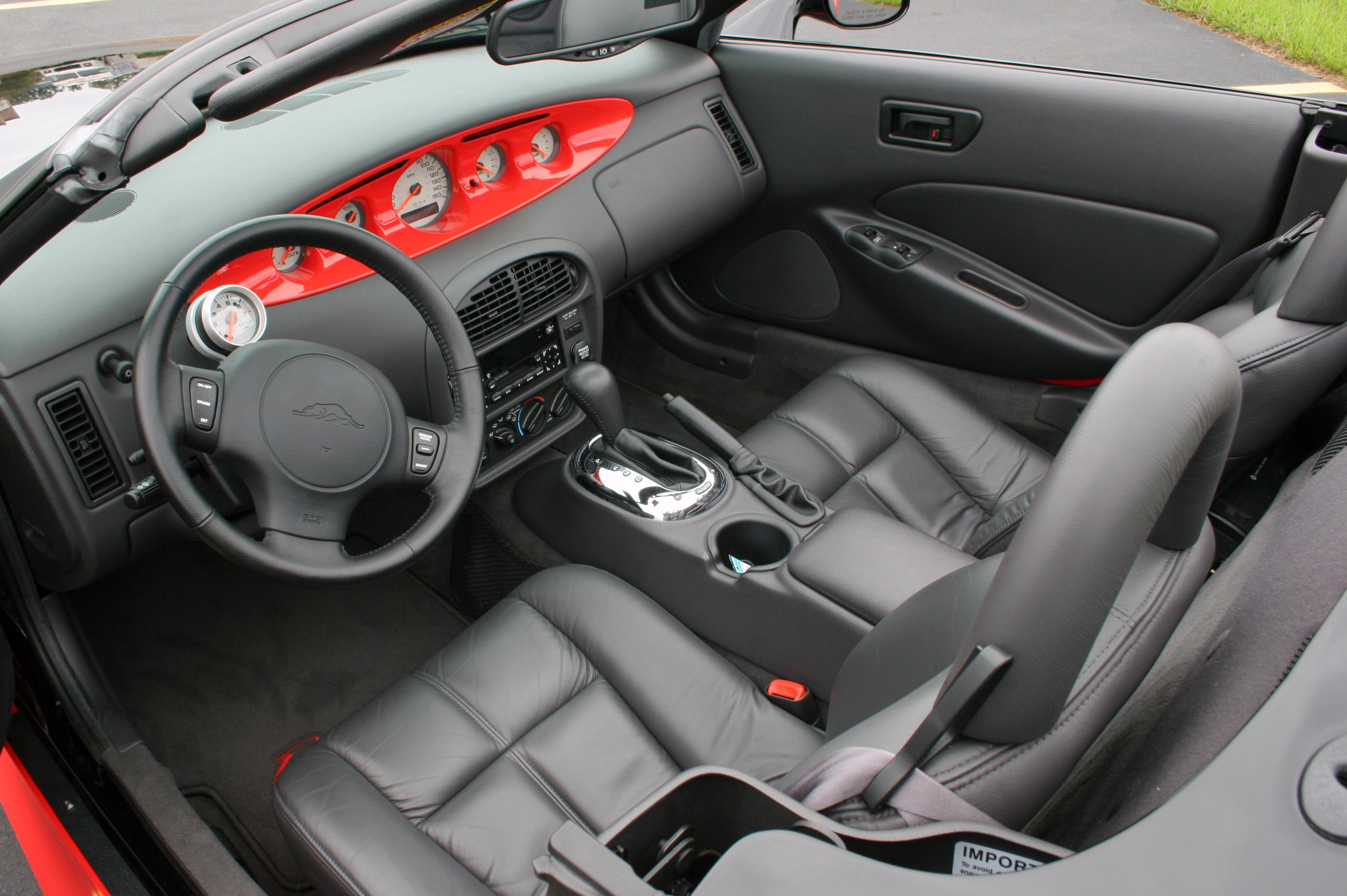 Plymouth Prowler on 2002 Pontiac Montana Interior
