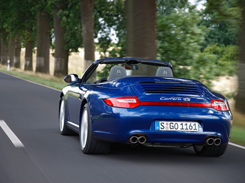 Porsche 911 Carrera 4S Cabriolet photo 05