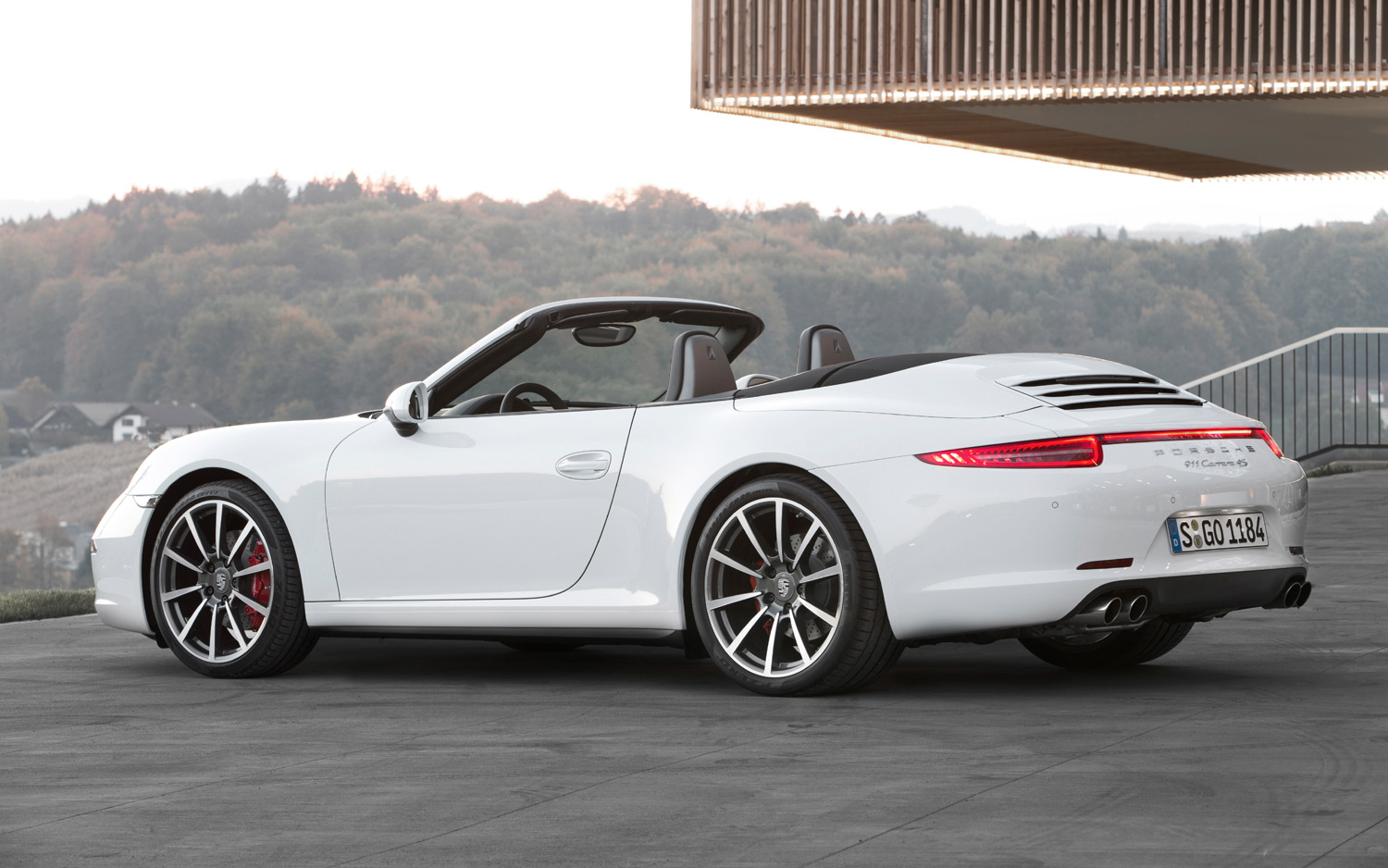 Porsche 911 Carrera 4S Cabriolet photo 06